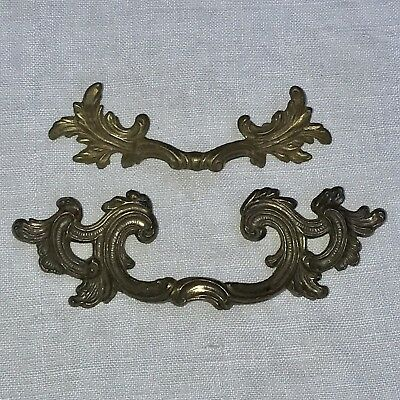 Antique Drawer Pulls Handles Replacement Ornate Victorian Lot #14