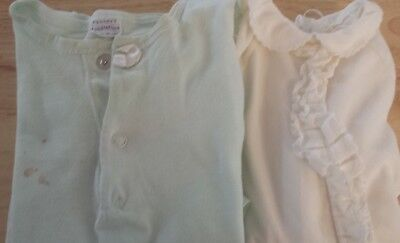 Vintage Baby Sleeper 3-6 month and nightgown up to 18 months