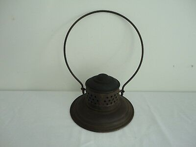 Antique Brass Top Railroad Lantern Cage Part (Top Only)