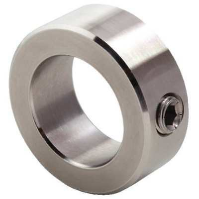 CLIMAX CRC-100-S Shaft Collar, 316 Stainless Steel, Set Screw, 1in Bore dia.