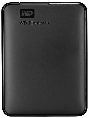 Externe Festplatte Western Digital WD Elements Portable HDD 4TB USB 3.0