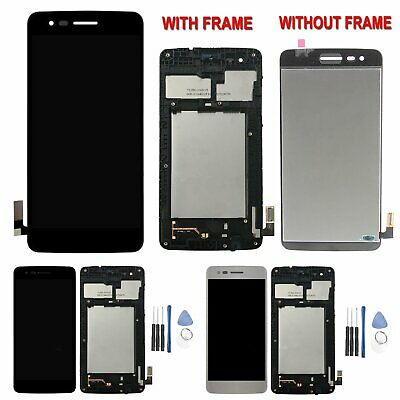For LG K8 2017 M200N M210 MS210 LCD Display Touch Screen Digitizer + Frame Black