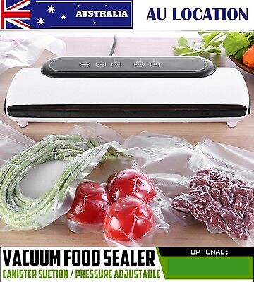 Sunbeam Food Saver Preservation Storage Sealer Machine Vacuum Sealing Freezer AU