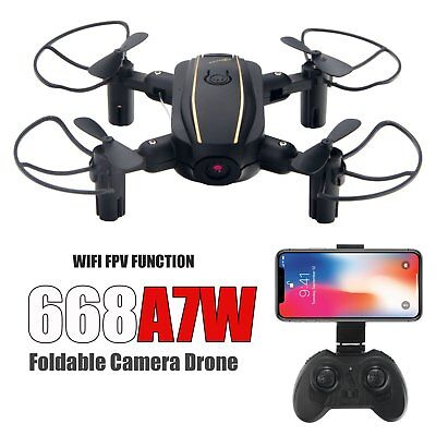 USA Folding 668A7 Wifi FPV 2.4G RC Quadcopter Drone RC HD Camera RTF UAV Helico