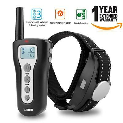 Dog Training Collar, Rechargeable & Waterproof, Blind Operation Dog Shock Collar