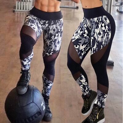ITFABS Sport Womens Compression Fitness Leggings Running Yoga Gym Pants Workout
