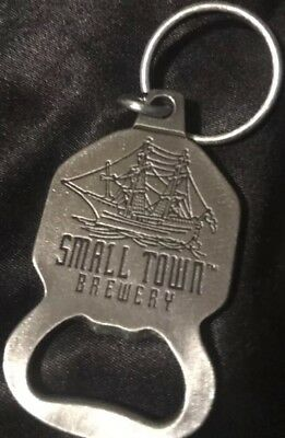 BEER Small Town Brewery Bottle Opener / Keychain NEW Metal GREAT GIFT IDEA