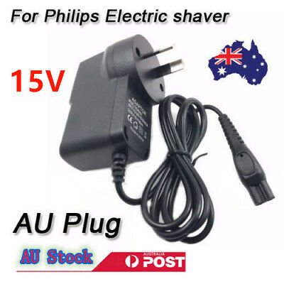 15V AU Plug Charger Power Lead Supply for Philips Electric Shaver AU