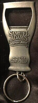Sam Adams Craft Beer Keychain Key Ring Chain Keyring Bottle Opener BEST GIFT