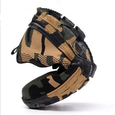 Mens Indestructible Bullet Proof Ultra X Protection Shoes Steel Toe Safety Boots