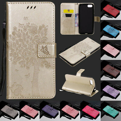 For Huawei Honor 7S Y5 2018 Y6 Y7 Magnetic Flip Card Wallet Leather Case Cover