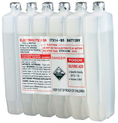 WPS 190CC CTX Sealed Battery Electrolyte Pack