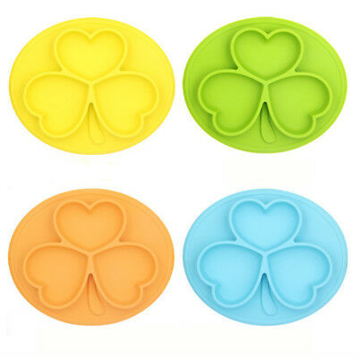 Hot Sale One Piece Silicone Placemat Food Plate Table Mat for Baby Toddler Kids