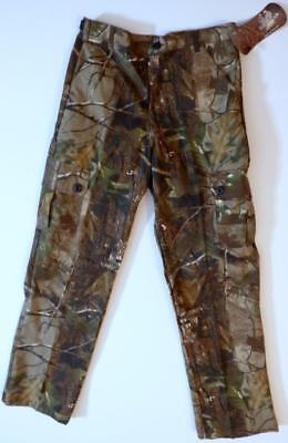 RealTree Camo Boy's Size 14 Cargo Pants Made in the USA