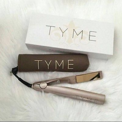 TYME Iron 2 in 1 Hair Straightener Curler Curling Iron