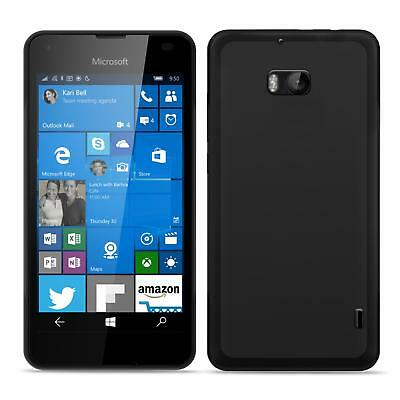 Nokia Lumia 930 Shockproof Gel Silicone Clear Case Thin Cover Ultra Slim Back