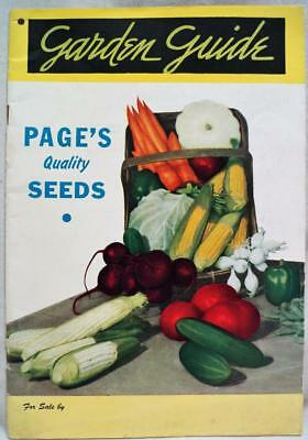 The Page Seed Company Greene New York Advertising Sales Catalog 1948 Gardening