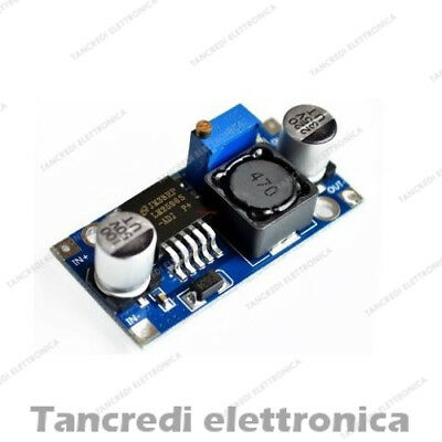 LM2596S convertitore di tensione DC-DC step down switching 2A out 1,25V - 26Vdc