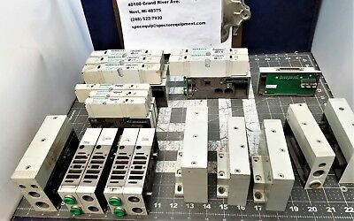 19 Piece Numatics Solenoid Valve Assortment [A8S3]