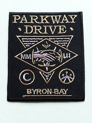 Parkway Drive Australian Metalcore Rock Music Band Embroidered Patch Uk Seller