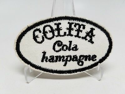 Colita Cola Champagne hampagne Error Patch