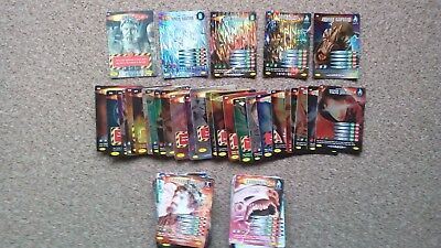 Dr Who Invader Trading Card Bundle Including Rare Super Rare & Ultra Rare Cards