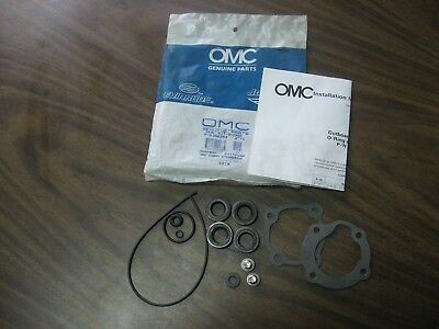 Omc Evinrude Johnson Gear Case Seal Kit 396352 Oem Kit