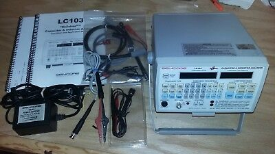Sencore LC103 Rezolver Capacitor & Inductor Analyzer Tester Complete w/ Manuals