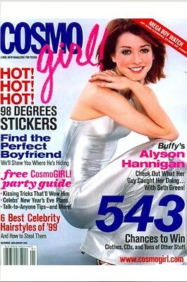 "Alyson Hannigan - On The Cover Of ""cosmo-Girl"" !!!"