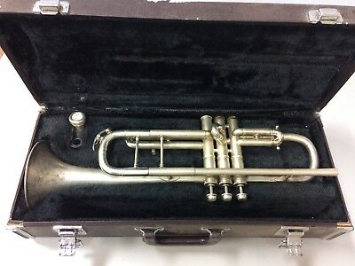 Grand Rapids Band Instrument Company (York) Silver Trumpet