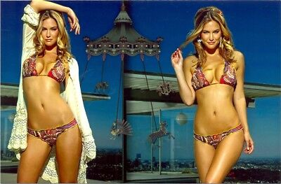 Bar Rafaeli - 2 Poses In A Bikini In One Photo !!!!