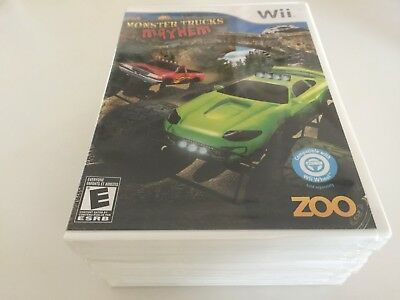 Monster Trucks Mayhem (Nintendo Wii, 2009) WII NEW