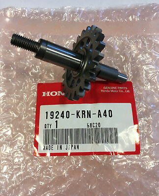 19240-KRN-A40 alberino pompa acqua shaft water pump CRF250R 2010 > 2017 10 17