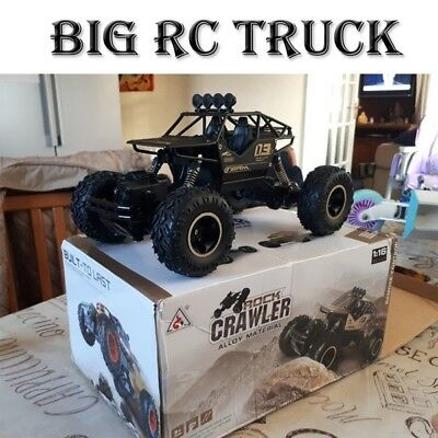 1/16 4WD RC Cars Alloy Speed 2.4G Radio Control Of-Road Truck Toys Children Gift