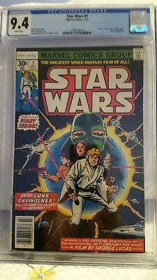 Star Wars # 1 (1977) CGC 9.4 White Pages