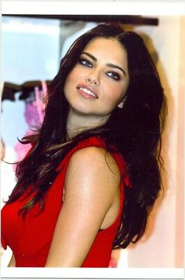 Adriana Lima - Nice Headshot With Red Top !!!