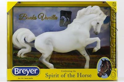 Breyer Banks Vanilla 1753 - Traditional Horse - New In Box Grey Connemara Pony