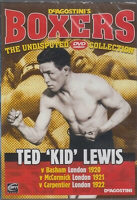 Boxing - Boxers - Ted 'Kid' Lewis (DVD) New & Sealed