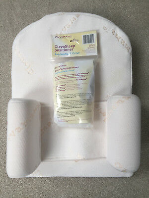Clevamama baby wedge support pillow anti reflux with new replacement cover