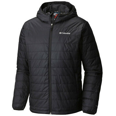 "New Mens Columbia ""Crested Butte"" Hooded Omni-Heat Insulated Winter Jacket Coat"