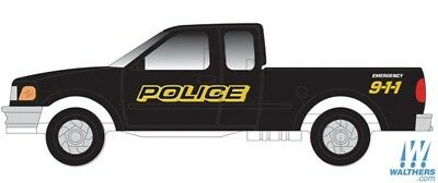 ATLAS (N-Scale) #60000109 FORD 1997 F-150 POLICE 911 (2-Pack)