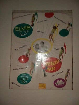 Elvis Presley - Tickle Me - 1965 Promo pak with Feathers