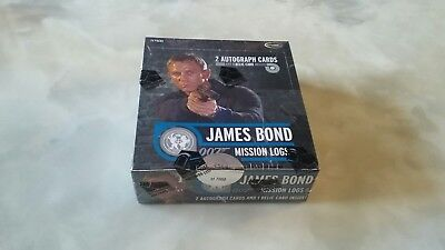 2009 James Bond Mission Logs Sealed Box.