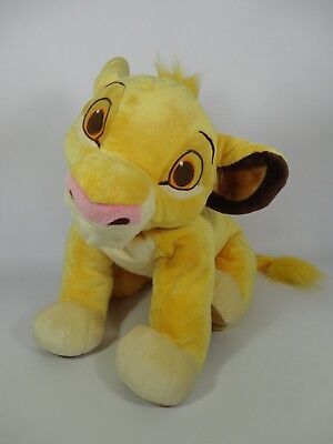 Simba The Lion King EXTRA LARGE Disney Store Soft Plush Toy RARE Giant Big Cat