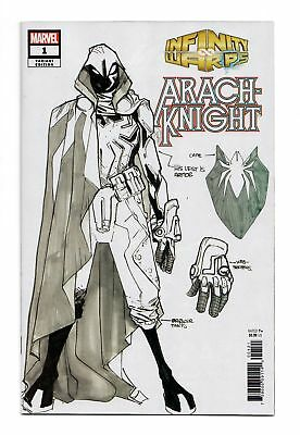 Infinity Wars Arachknight #1 1:10 Humberto Ramos Design Variant Bagged Marvel Nm