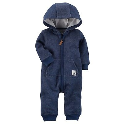 3e3bee02d CARTERS 3 MONTHS Fleece Lined Pullover & Pants Set Baby Boy Clothes ...