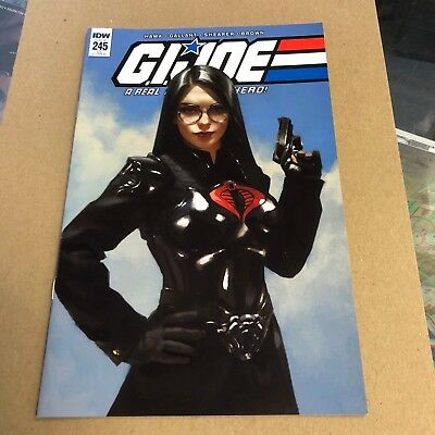 G.I Joe Real American Hero #245 Yesteryear Comics Miguel Mercado variant.