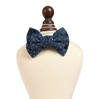 Cute Adjustable Bow Tie Necktie Collar Dog Cat Puppy Pet Grooming Accessory