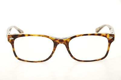 9b13706ea1a Authentic Ray Ban RB 5286 5082 Tortoise Clear 53mm Eyeglasses Frames RX