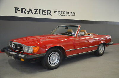 1985 Mercedes-Benz 380SL  TUNNING TIME WARP CLASSIC SL with 28365 actual miles